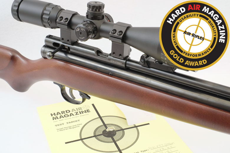 Beeman Chief PCP Air Rifle Test Review .177 Cal.