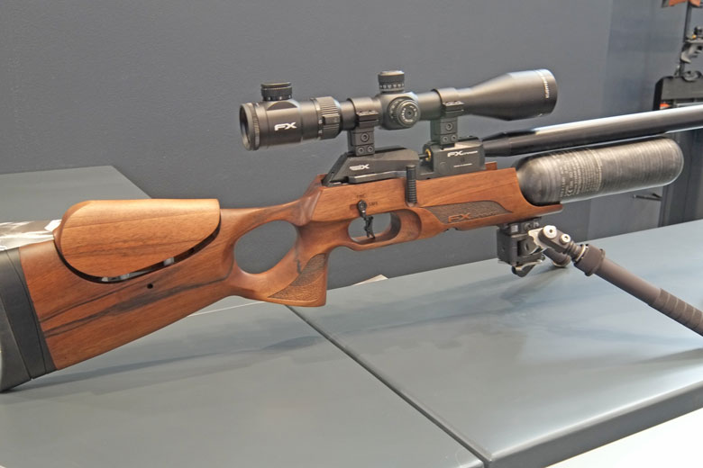 IWA 2017 Day One - New FX Crown Air Rifle Announced
