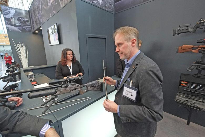 IWA 2017 Day One - New FX Crown Air Rifle Announced