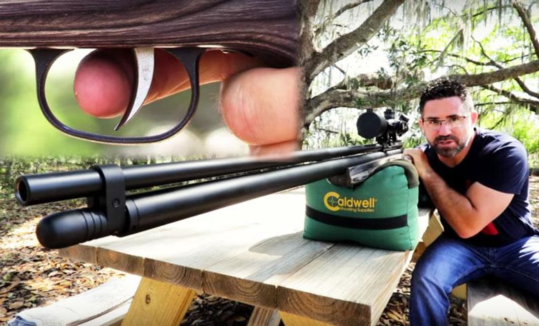 Western Big Bore Bushbuck .45 Caliber Big Bore Air Rifle - 600 Ft/Lbs!