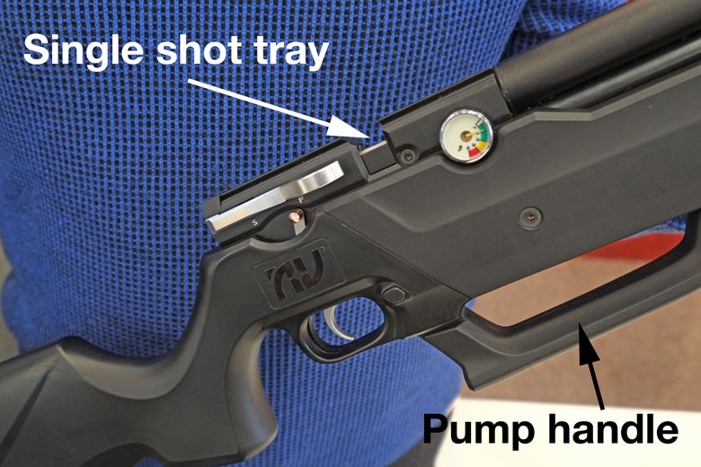 The Nova Vista HP-M1000 Multi Pump PCP Air Rifle.