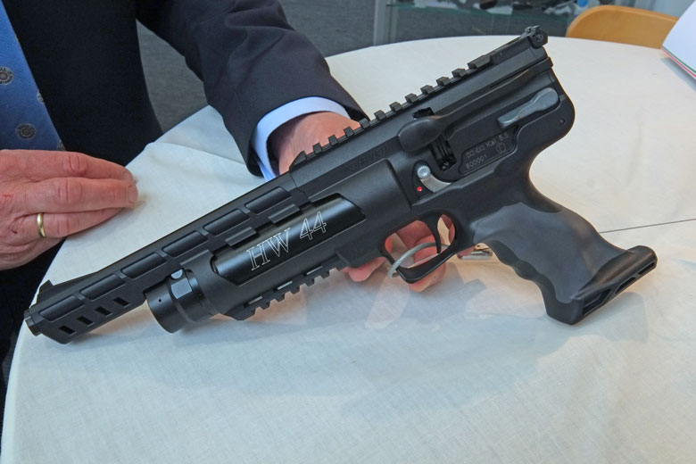 Another highlight of the 2017 IWA Show was the appearance of a prototype Ataman BP17 air rifle. At least that's what it may be called, finally!