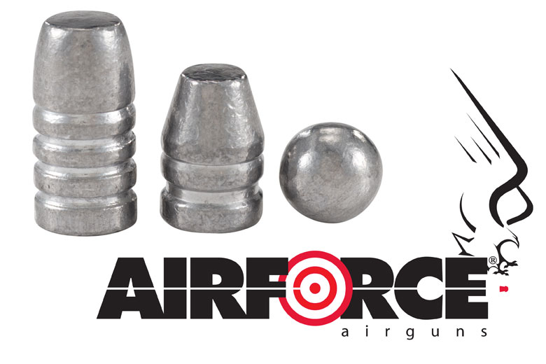 AirForce Airguns Now Offers Big Bore Airgun Ammunition.