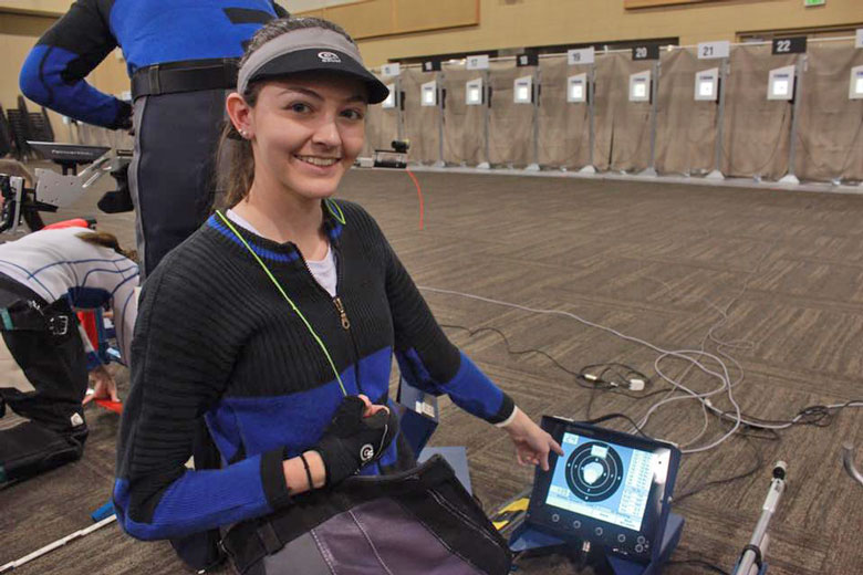 Hemphill Shoots Incredible National Record Standing Score at 2017 CMP 3P Air Rifle Regional Championships