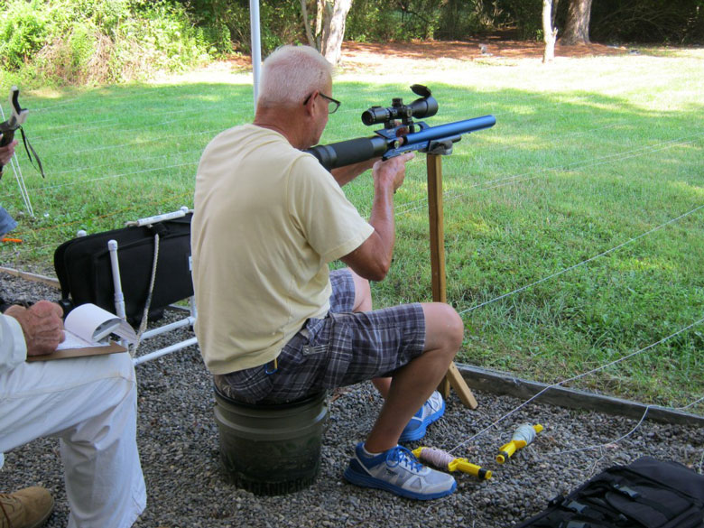 Greg's Guide to Field Target. Part Nine, Sticks and Seats.