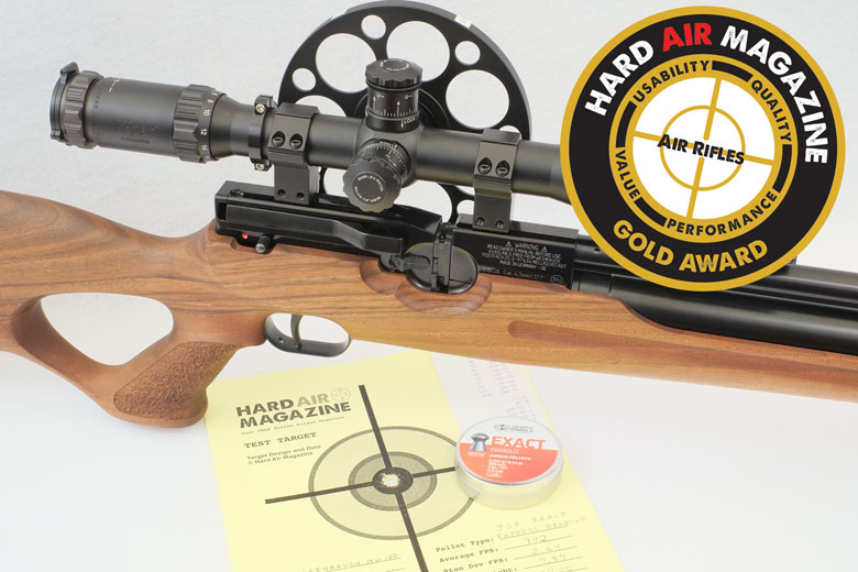 Weihrauch HW100 PCP Air Rifle Test Review  177 Caliber