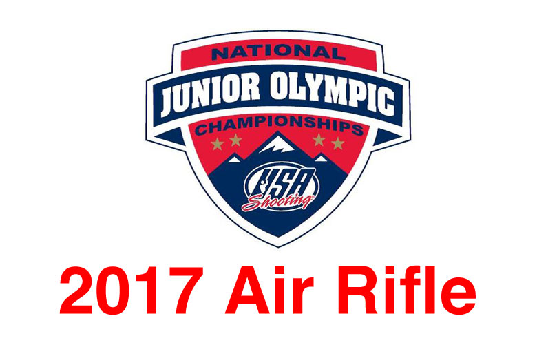 Olympic Air Rifle Gold Medalist Ginny Thrasher Headlines in 2017 National Junior Olympic Shooting Championships