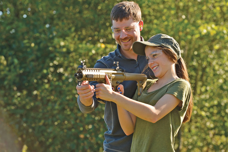 See and Shoot SIG SAUER ASP Airguns at the NRA Show