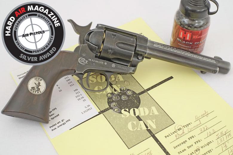 Duke Colt CO2 BB Revolver Test Review