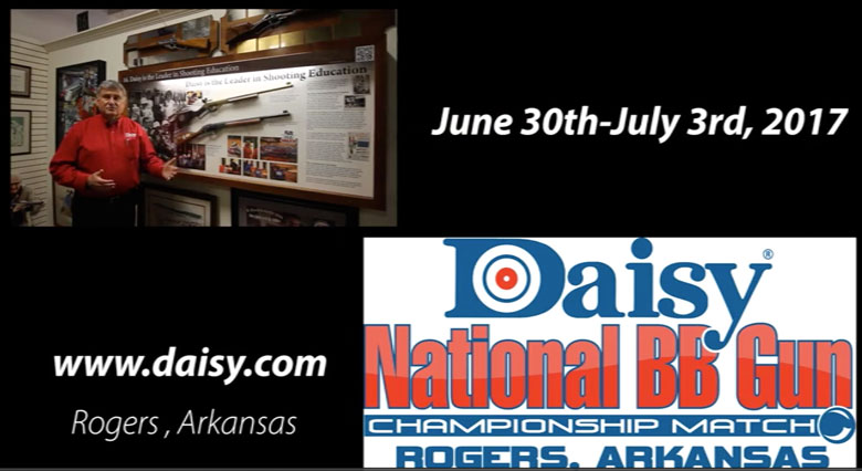 One-Month Countdown To Daisy National BB Gun Championship Match