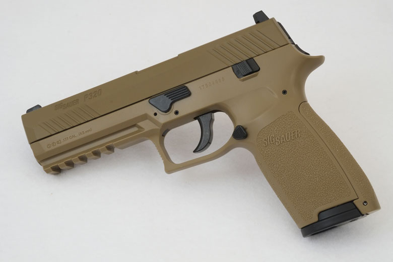 SIG SAUER P320 ASP CO2 Pistol Test Review.