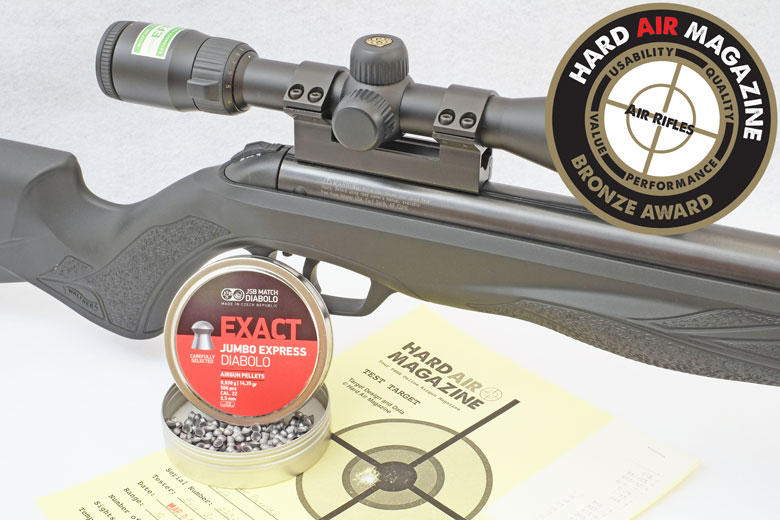 Walther Parrus Air Rifle Test Review, .22 Caliber.
