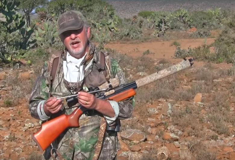 Jim Chapman Hunts Wildebeest With Air Venturi Air Bolt And Dragon Claw Air Rifle