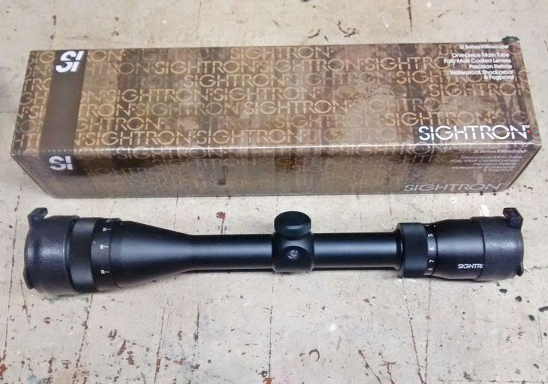 The Sightron SIH412X40FTMOA Riflescope