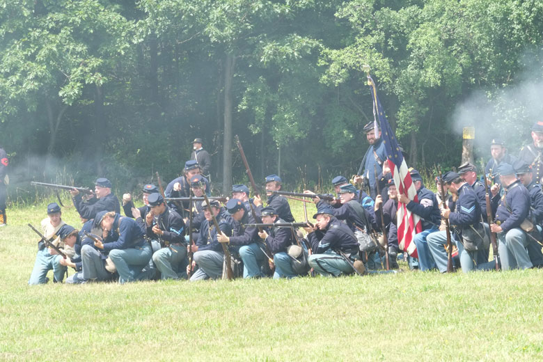 No Airguns Today. Instead We Go Back to the Nineteenth Century For An Outstanding Civil War Reenactment.