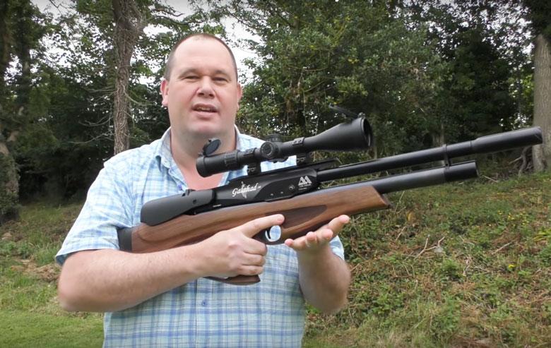 Giles Shoots the Air Arms Galahad, UK-Spec in .177 Caliber