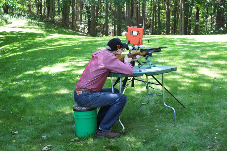 Using Labradar To Record Airgun Pellet Velocities