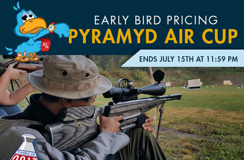 Last Chance of Early Bird Pricing for 2017 Pyramyd Air Cup
