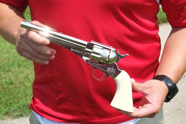 New Remington 1875 Dual Ammo Replica Revolver Starts Shipping
