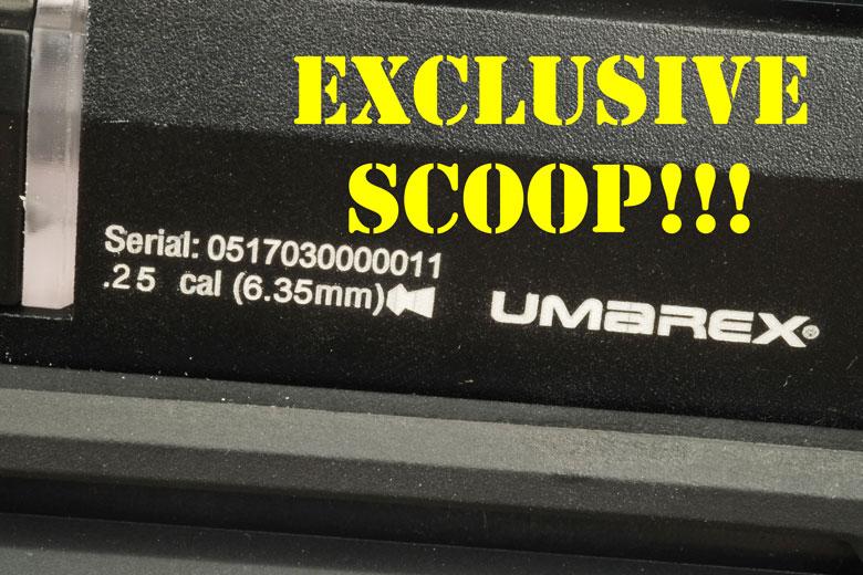 Exclusive Sneak Peek At A Umarex Gauntlet 25 Caliber Prototype