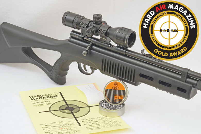 Beeman QB78S Air Rifle Test Review  177 Caliber