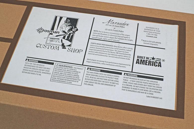 A Close Look at the New Crosman Custom Shop Regulated Marauder