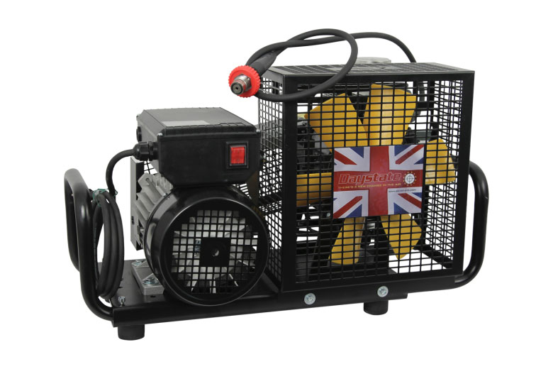 New Daystate LC110 HPA Compressor Gives 4500 PSI From 110 Volt Electrical Supply.