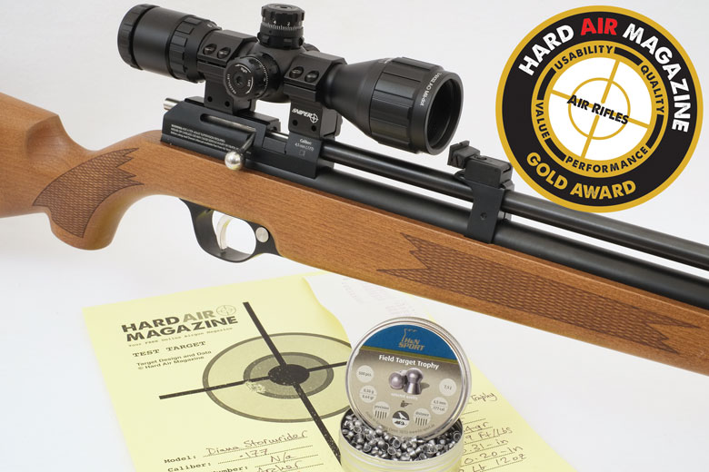 Diana Stormrider PCP Air Rifle Test Review .177 Caliber