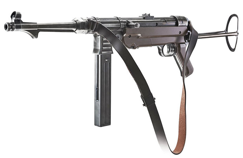 New Version of The MP40 - The Umarex MP Weathered