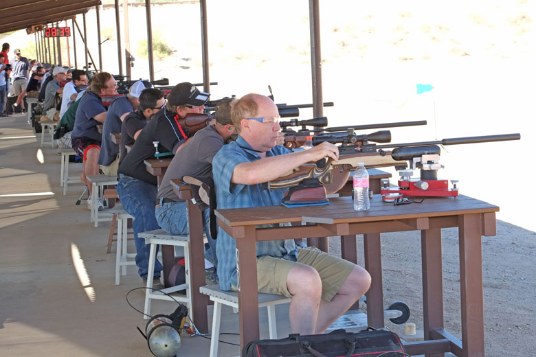 Extreme Benchrest EBR 2017 Results and Final Day.