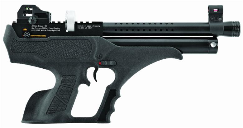 The New Hatsan Sortie Semi-Automatic PCP Air Pistol