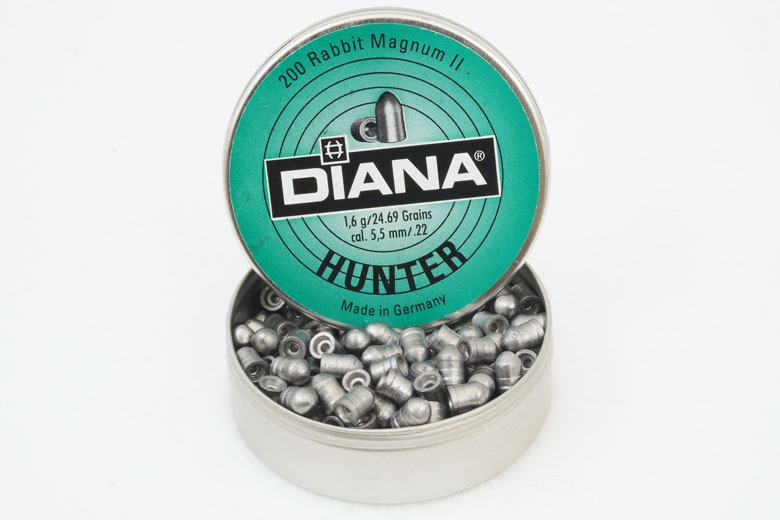 Diana Hunter 24.69 Grain .22 Caliber Pellet Test Review