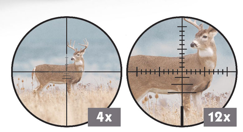 New CenterPoint Spectrum 4-12 x 44 First Focal Plane Riflescope.