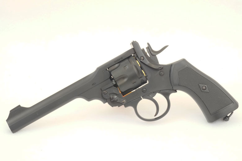 Webley Mark VI CO2 BB Revolver Test Review.