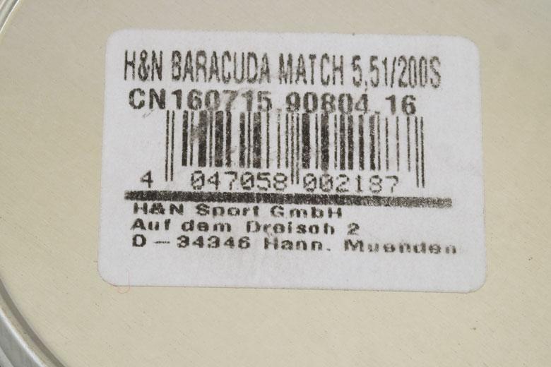 H&N Baracuda Match 21.14 Grain .22 Caliber Pellet Test Review