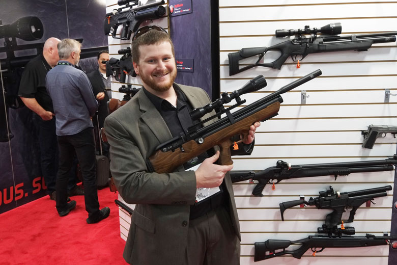 New PCP Air Rifles At The 2018 SHOT Show - A Roundup