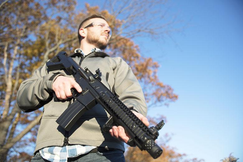 Crosman Introduces the DPMS SBR Full Auto CO2 Rifle