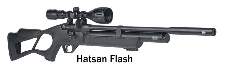 New Hatsan Flash and FlashPup PCP Air Rifles Launched At