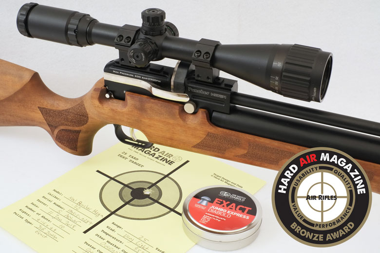 Kral Puncher Mega PCP Air Rifle .22 Caliber Test Review