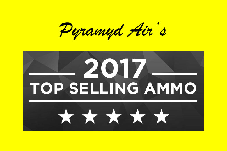 Now We Have Pyramyd Air's Top Selling Airgun Ammo of 2017