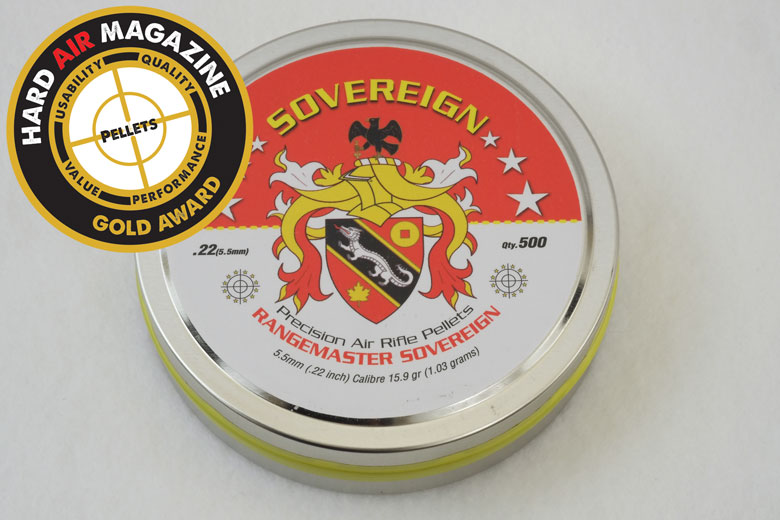 Daystate Rangemaster Sovereign 15.9 Grain .22 Cal Pellet Test Review