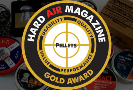 Introducing the First Hard Air Magazine HAM Pellet Gold Award Winners