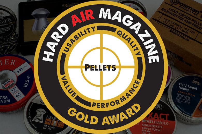 Introducing the First Hard Air Magazine HAM Pellet Gold Award Winners