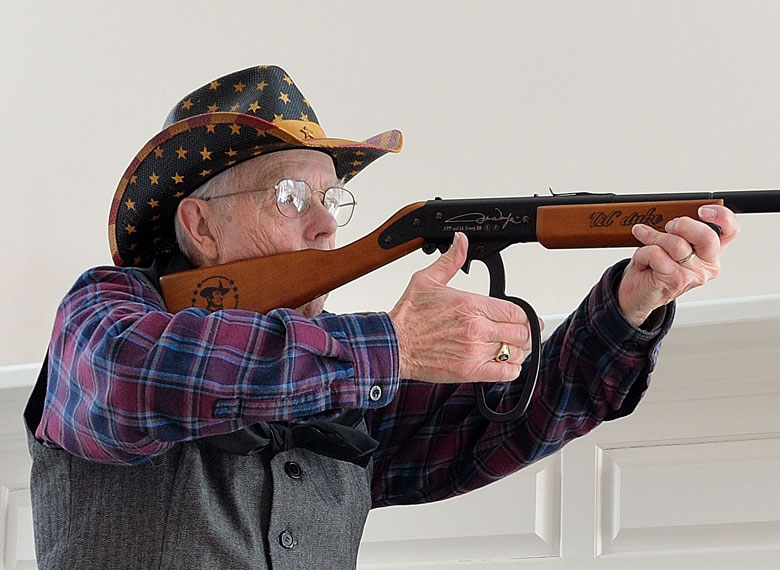 The Air Venturi John Wayne Lil Duke BB Rifle