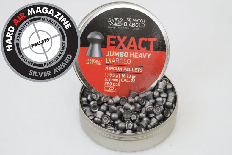 Redesigned JSB Exact Jumbo Monster 25.39 Grain Pellets .22 Caliber Test Review