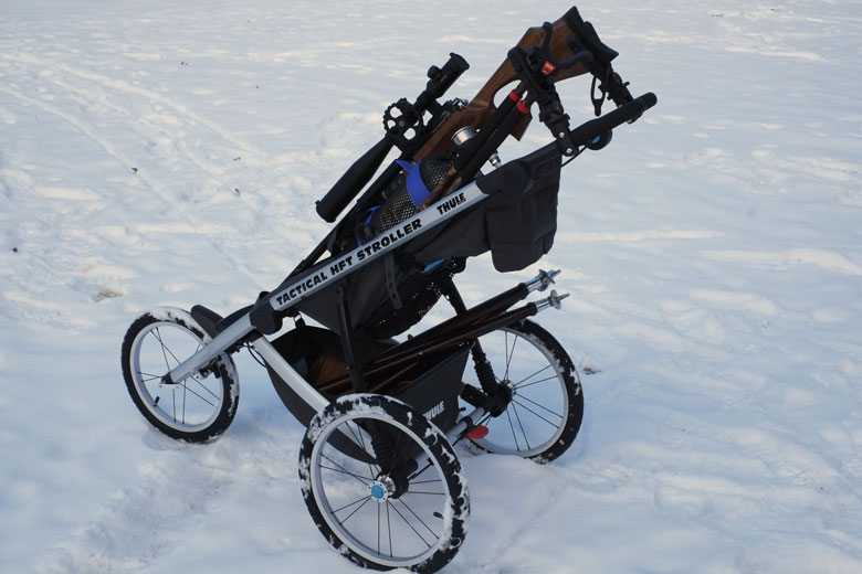 The Ultimate Field Target Accessory - Pete's Tactical Stroller!