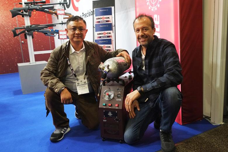 HAM Meets The Man Who Makes Omega Compressors