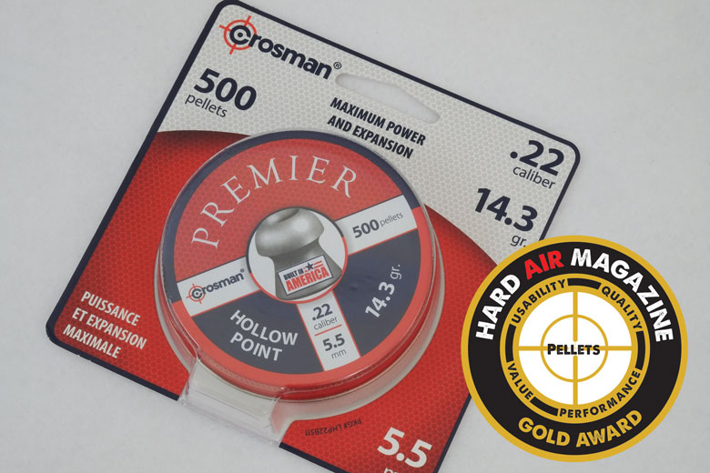 Crosman Premier Hollowpoint 14.3 Grain Pellet Test Review
