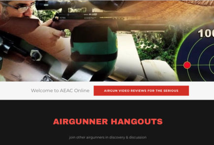 There's Now An AEAC Web Page For The Airgun Exploration And Advancement Channel