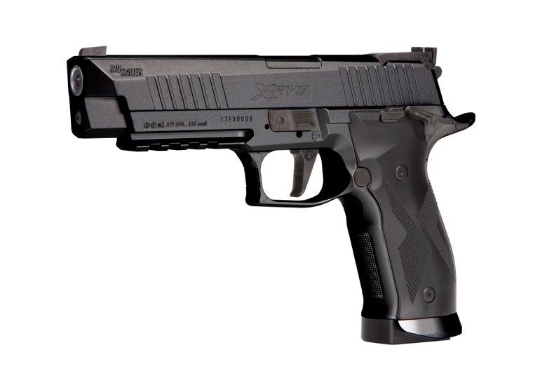 SIG SAUER Introduces the X-Five ASP Advanced Sport Pellet Air Pistol